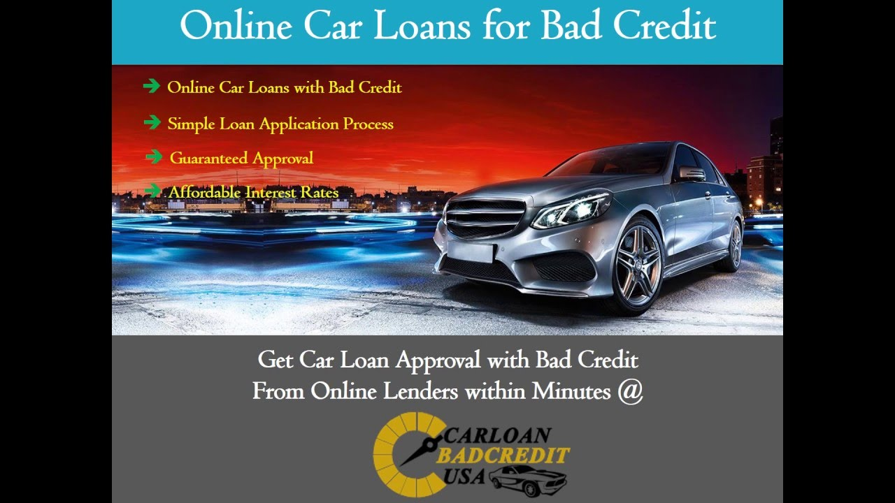 Car Loans For People With Bad Credit Get Approved For A Car Loan With Bad Credit