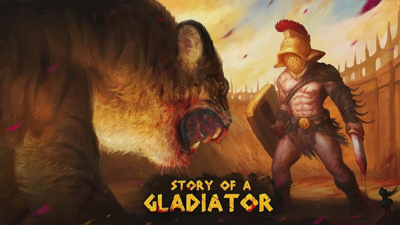 Story of a Gladiator PS4 Pro Playthrough part 1