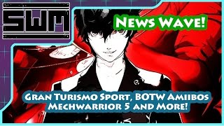 News Wave! - Breath of the Wild Amiibos, MechWarrior 5, Persona 5 and More!