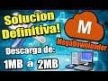 SOLUCION AL ERROR EN MEGADOWNLOADER 0.00 kb/s y links rojos DESCARGA DE 1MB A 2MB