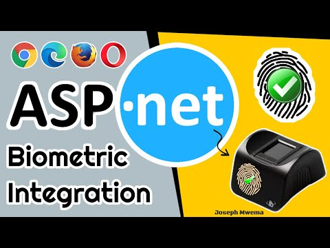 ASP NET Web Biometric Fingerprint Enrollment and Authentication