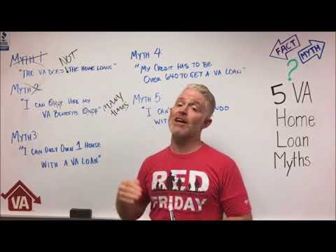5 VA Loan Myths   844-326-3305   VA Home Loans