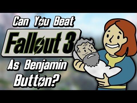 Can You Beat Fallout 3 As Benjamin Button?