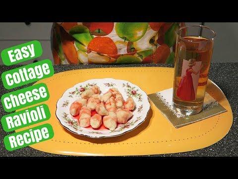 Easy Cottage Cheese Ravioli Recipe