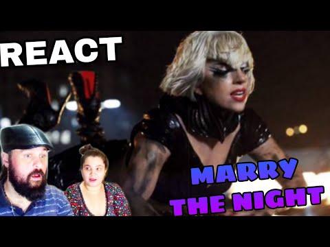 REAGINDO: LADY GAGA - MARRY THE NIGHT REACT