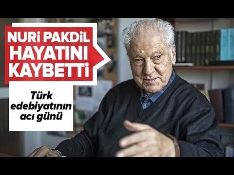 Yazar Nuri Pakdil Vefat Etti../ A Haber