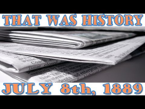 Today In History: The Wall Street Journal