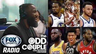 NBA Champion Kendrick Perkins Talks Kevin Durant, NBA Playoffs and More