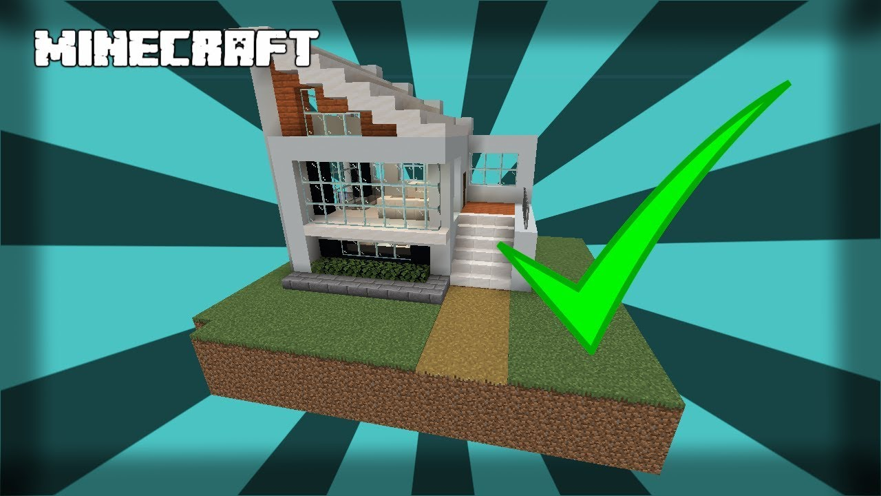 Small And Easy Modern House 1 14 Minecraft Map
