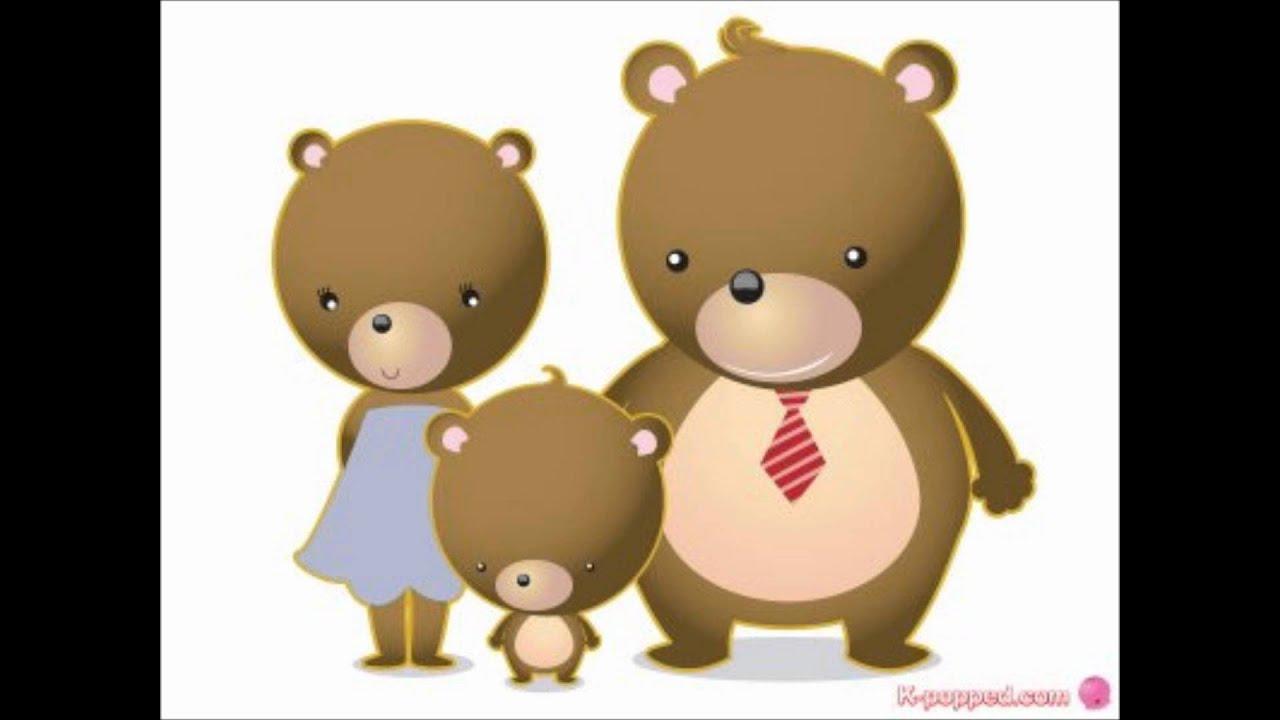 Uncategorized Three Little Bear kom sae mari three bears song korean childrens lyrics in description youtube
