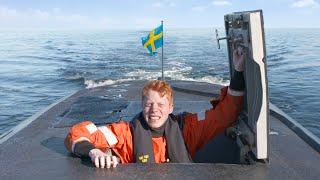 Lever 24 timmar i en svensk ubåt