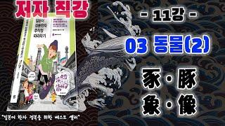 [일상무따] 10강 「03동물」기초한자 ②돼지와 코끼리 / 강의에서만 들을 수 있는 자세한 해설과 꿀팁들(象像의 차이를 아나요?)