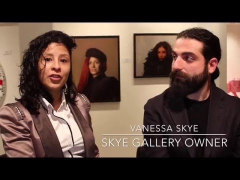 Grand Opening Skye Art Gallery - Las Vegas