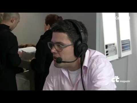 Heise-Show: CeBIT 2013 Tag 1