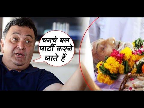 Rishi Kapoor angry on khans for not attending Vinod Khanna's funeral