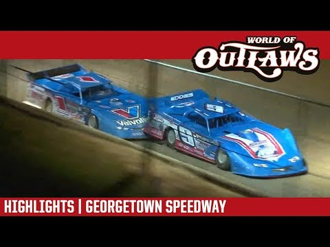 World of Outlaws Craftsman Late Models Georgetown Speedway August 17, 2017 | HIGHLIGHTS
