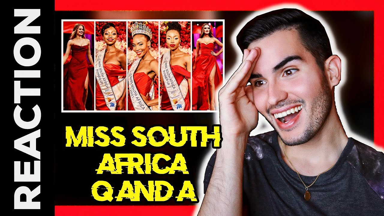 Miss South Africa 2021 Reaction - Q and A Top 5 Candidates before Crowning Moment 👑
