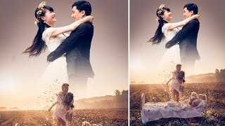 Photoshop Tutorial | Simple Pre wedding Manipulation