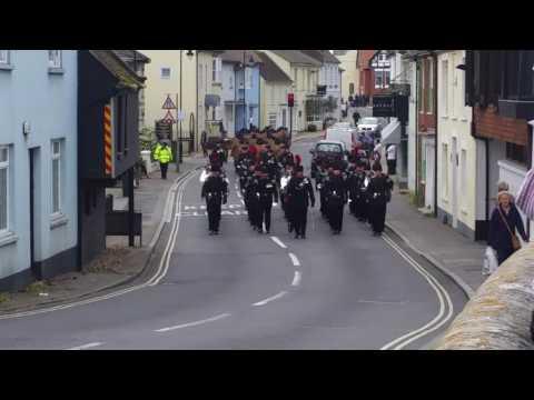 Christchurch Dorset Military March April 2017