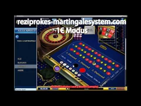 Video Roulette system rot schwarz verdoppeln