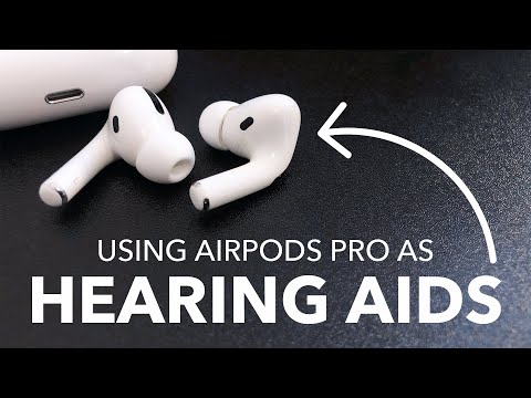 NEW for 2021: How to use AirPods Pro as Hearing Aids in iOS 14! (Now works for AirPods Max)