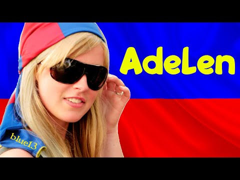ADELEN OLE european remix 2018 FIFA WORLD CUP & EURO 2020 blue13826