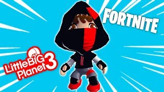 Free Fortnite iKONIK SKIN in LBP - LittleBigPlanet 3 PS4 Gameplay