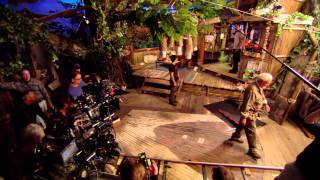 Journey 2 The Mysterious Island - Behind The Scenes 12 minutes of footage [HD].mkv