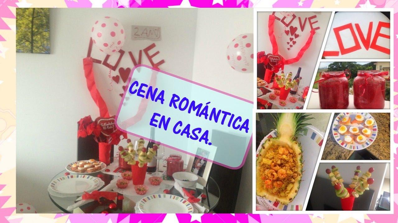Cena rom ntica en casa sin gastar mucho dinero amigasrd - Cena romantica a casa ...