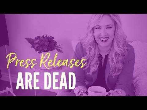 Press Releases are Dead