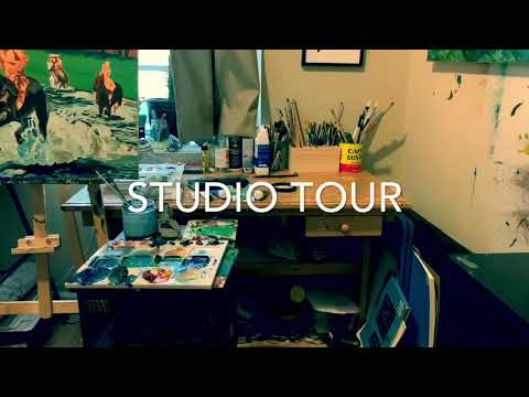 Studio Tour, Jacob Patton