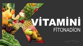K Vitamini (Fitonadion) En Yüksek 10 Meyve ve Sebze