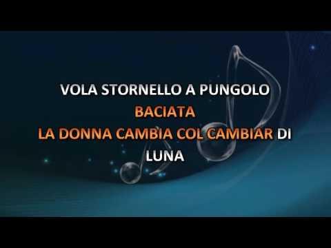 Claudio Villa - Stornello A Pungolo (Video karaoke)
