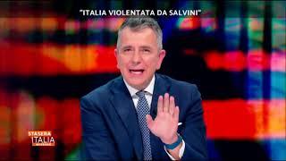 Sgarbi e la pornostar Valentina Nappi a «Stasera Italia» (20/01/2019) su Rete 4
