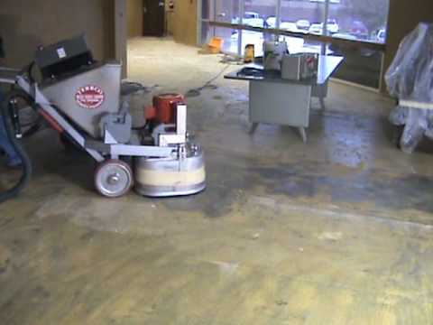 Terrco Inc Carpet Glue Removal Youtube
