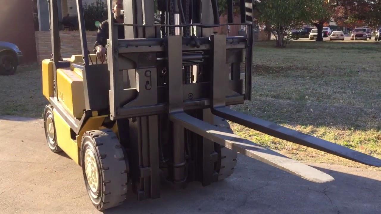 Yale GDP080 Diesel Forklift - Reconditioned-Forklifts com 4K