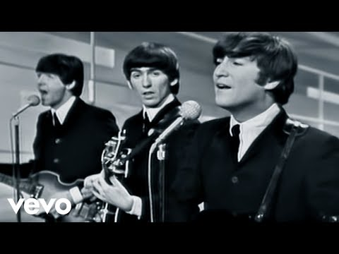 The Beatles  I Want To Hold Your Hand  Performed  On The Ed Sullivan Show 2964
