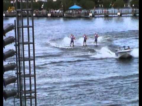 Ski Show at Seaworld Orlando Florida
