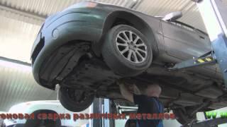 Удаление катализатора на Volvo S60. Удаление катализатора на авто Volvo S60 в СПб.
