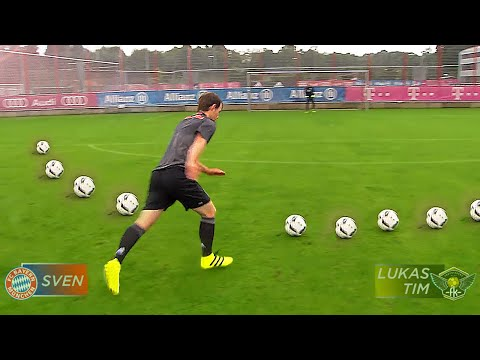 FC Bayern vs freekickerz • Ultimative Fußball Challenges