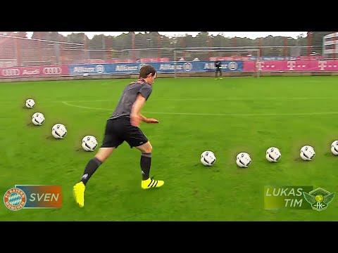 FC Bayern vs freekickerz • Ultimative Fußball Challenges
