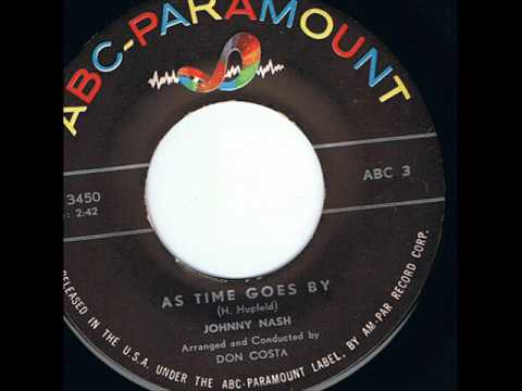 As Time Goes By  (sung by Johnny Nash)