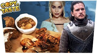 Original GAME OF THRONES FESTMAHL kochen! 🥘🍗🤤 Copy & Taste #CaT