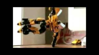 Bumblebee & Optimus Prime vs Dancing Evian Babies  - AUDIO SWAP