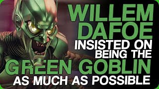 Willem Dafoe Insisted on Being The Green Goblin As Much As Possible (Actors Who Care)