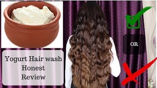 Washed Hair with Yogurt | Honest Review