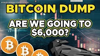 Bitcoin Price - Will be dump to $6,000? What am I doing?