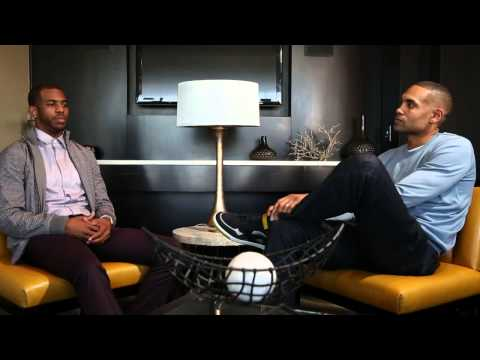 Chris Paul Sits Down with Grant Hill on NBA Inside Stuff