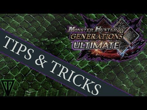 MHGU - Tips & Tricks for Every Hunter