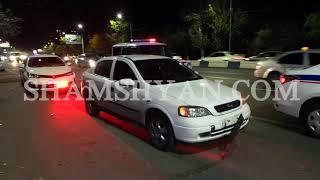 Ավտովթար դանակահարություն Երևանում  բախվել են Opel ը, մոտոցիկլը և մեկ այլ Opel